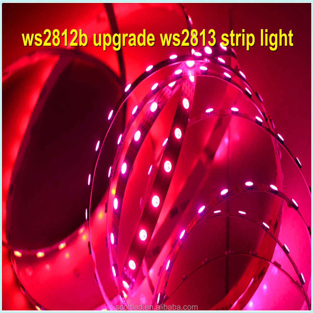 ws2812b upgrade 30pixel ws2811,Alibaba express Chinese rgb led strip 5v tv,ic ws2812b addressable LED strips 5V light