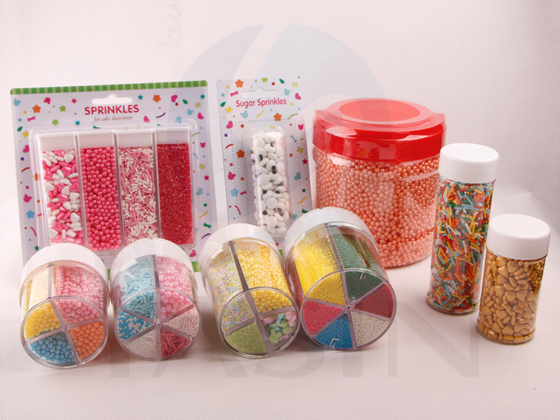 Mix Color Micro Cake Sprinkles Nonpareils