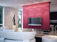 plastic textured wall panels