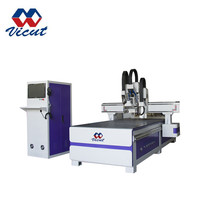 CNC wood router / cnc corrugated cardboard cutting machine / 4 axis cnc router price