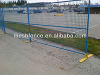 1 square tube portable construction fence