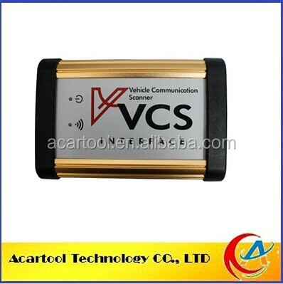 Professional Diagnostic Tool Universal VCS Vehicle Communication Scanner VCS Scanner Interface with high quality