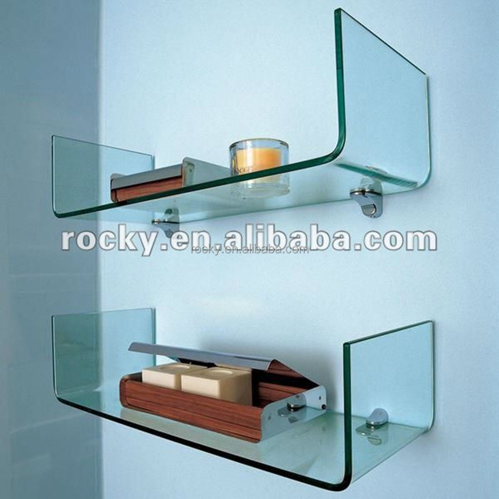 China Floating Glass Shelf, China Floating Glass Shelf Manufacturers ...