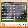 mono 100w folding solar panel for DC 12V solar energy system