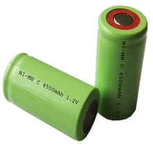 Large capacity c 4500mah 1.2v ni-mh rechargeable battery