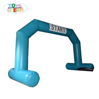 advertising inflatable entrance gate Inflatable arches race start line gate Removable Logo Brand