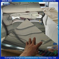 mirrored plastic polycarbonate sheet flexible PC mirror sheet