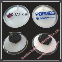 new product for 2014 new cheap tin button badge/tin badge/ flashing pin/badge