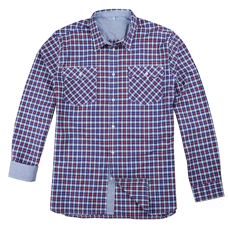 Cheaper Stock Shirts for Men <strong>100</strong>% Cotton Small Check