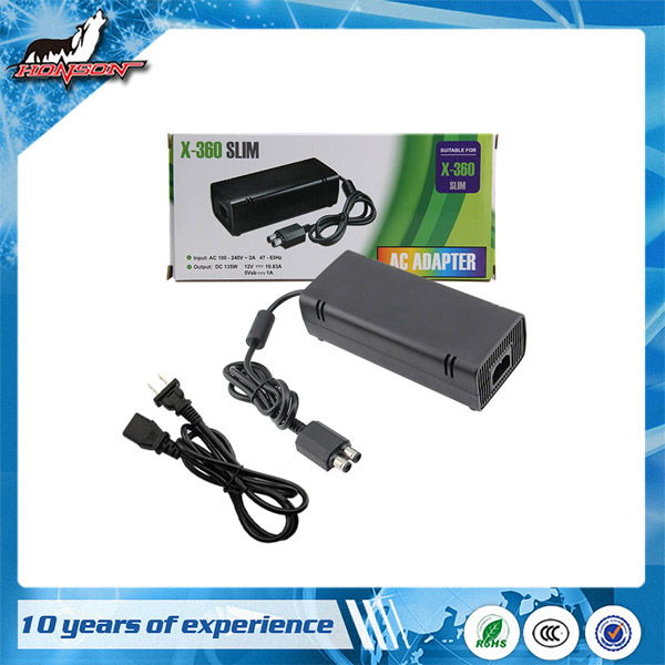 Strict Test US Plug AC Adapter Cord Charger For XBOX 360 Slim Console Power Supply