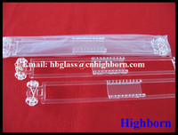 heat resistance clear quartz wafer carrier for solar industry