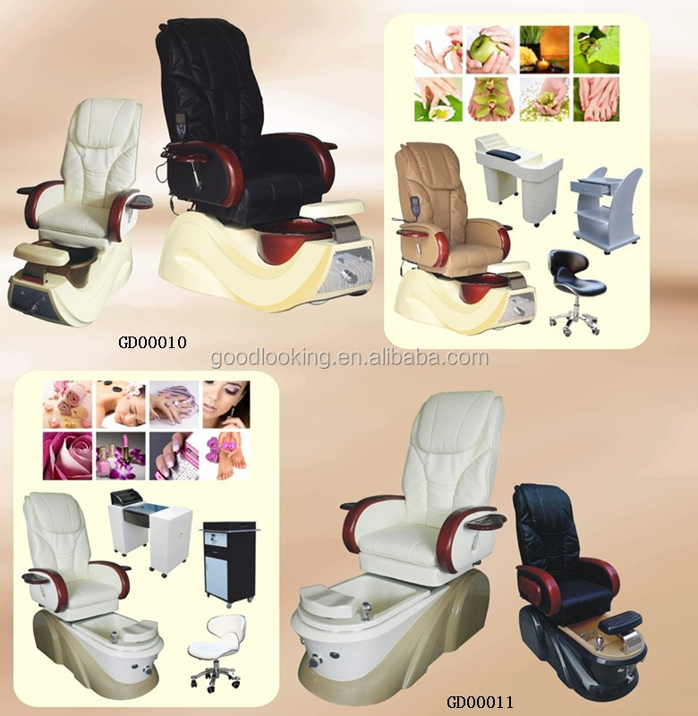 2016 luxury beauty salon sharp massage & pedicure foot chairs