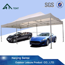 3x6m foldable movable waterproof aluminium folding car shelter
