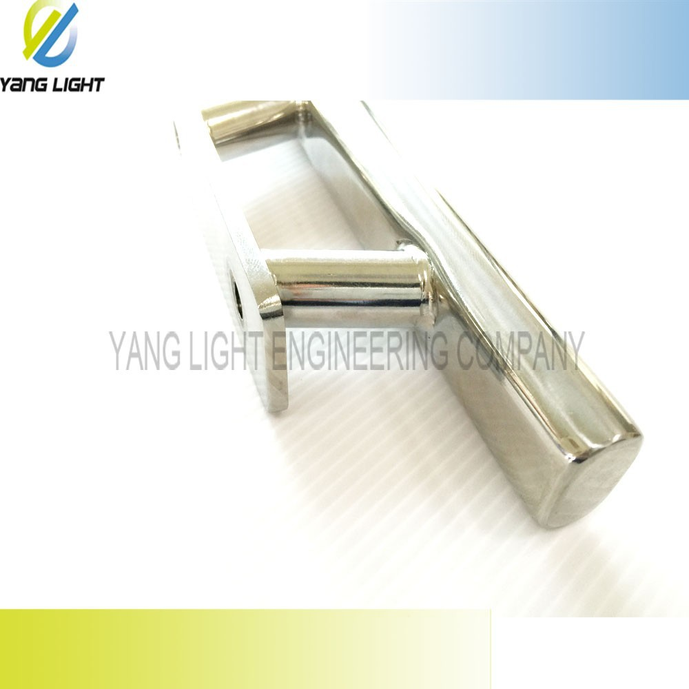 Made in Taiwan High Quality Stainless Steel 304 204mm Boat Mirror Polished Cleat