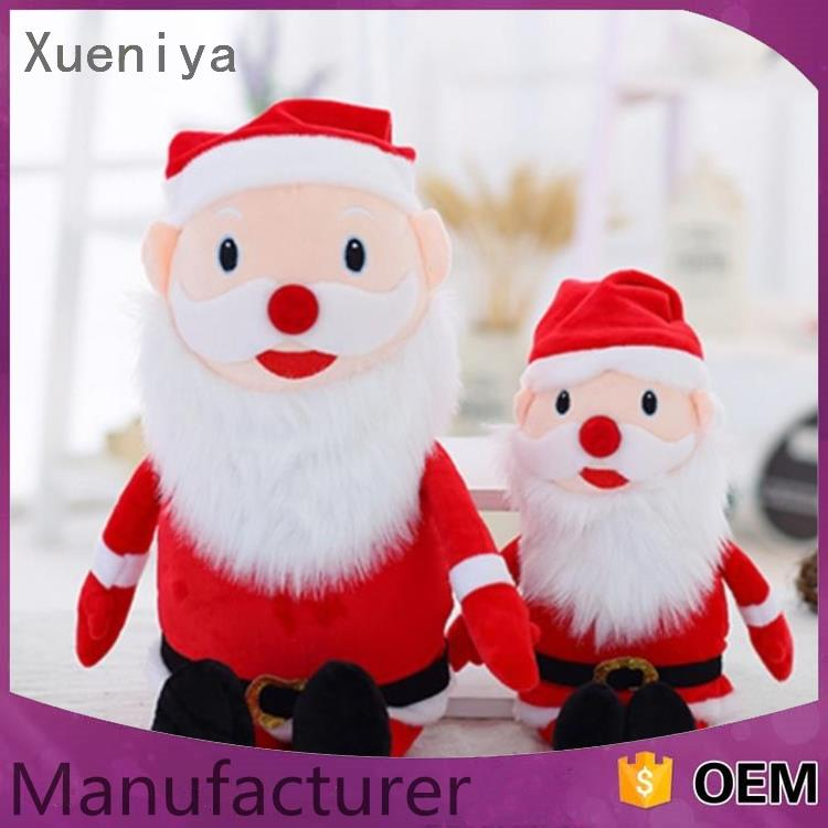 wholesale personized Embroidery comfortable musical santa claus