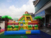 inflatable fun city bouncer inflatable coconut palm tree park