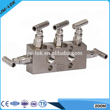 Stainless steel water 2 way manifold for fire pump