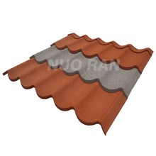 Maintenance free terracotta alu metal roof tile