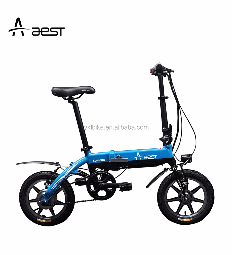Chinese wholesale 14 inch alloy aluminum <strong>folding</strong> electric e bike e bicycle conversion kit electric bikes