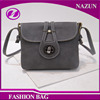 New fashion simple design wholesale pu leather women traditional shoulder bag messenger bag