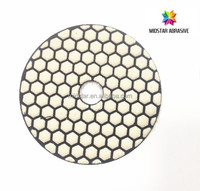 abrasive dry pad type diamond polishing pads