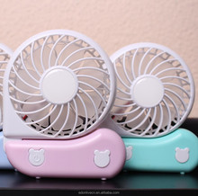Newest design foldable electric battery operated handheld usb mini fan portable