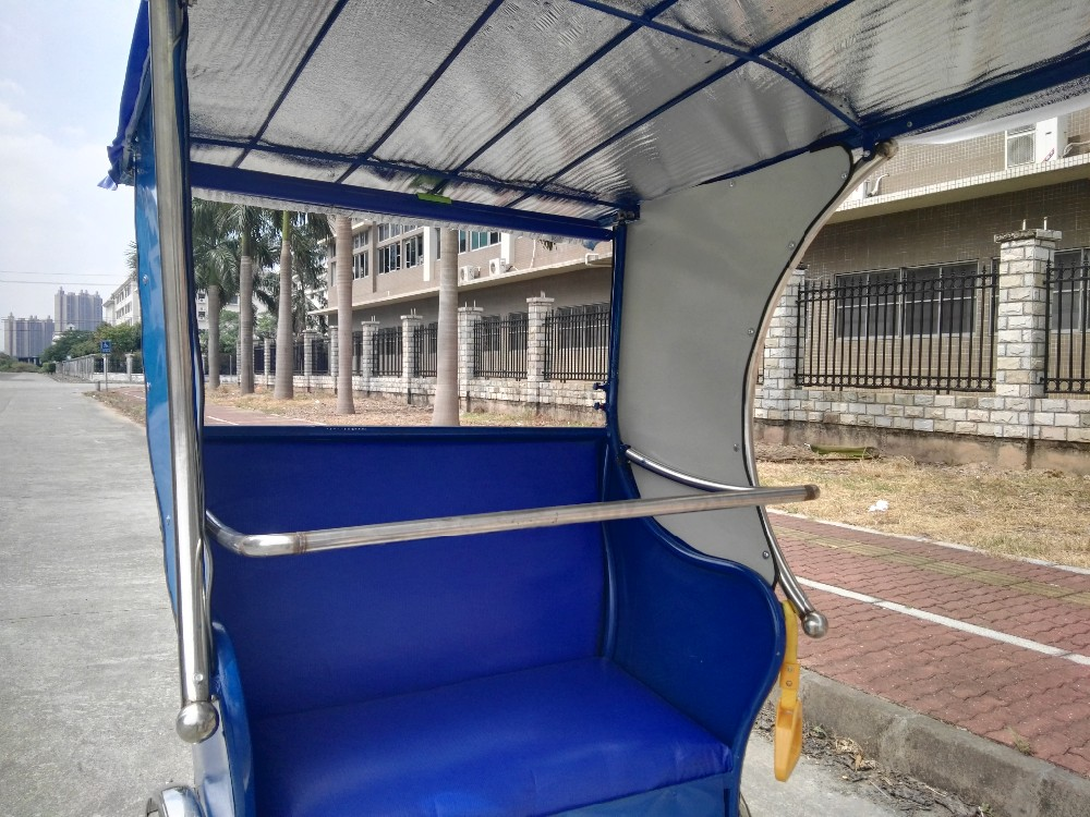 China Factory Electric Auto Battery Bicycle Rickshaw Pedicab For Sale
