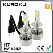 supper brightness C6 36w 3800lm toyota headlight with ce cetification