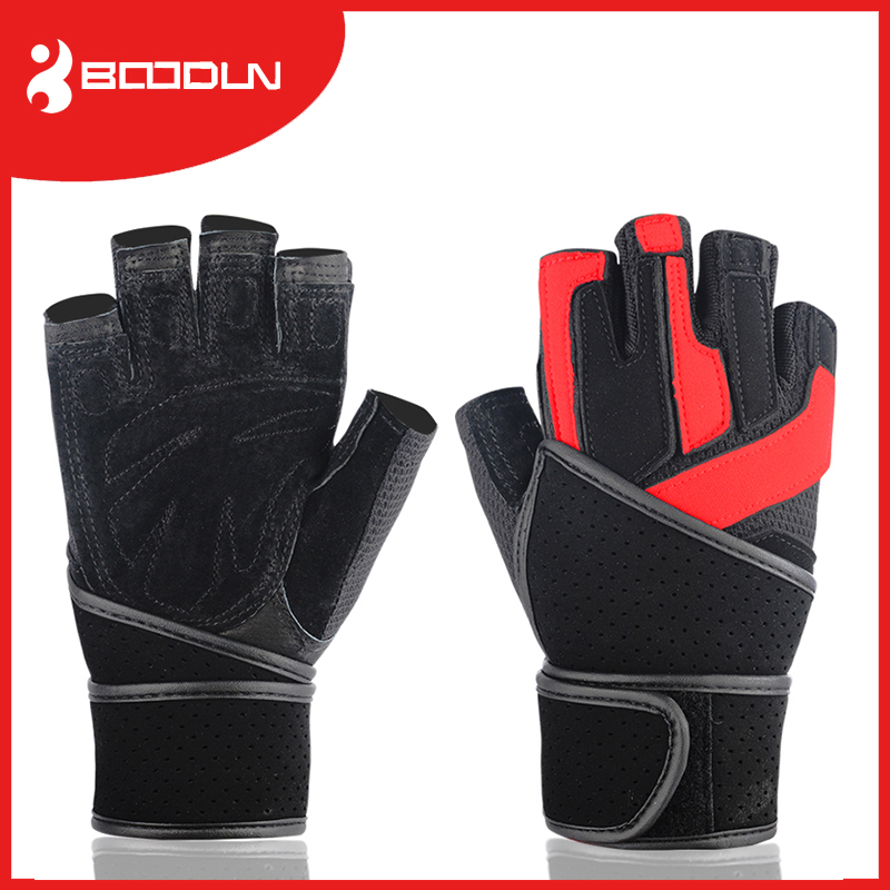 on line selling breathable indestructible genuine leather <strong>weight</strong> lifting glove
