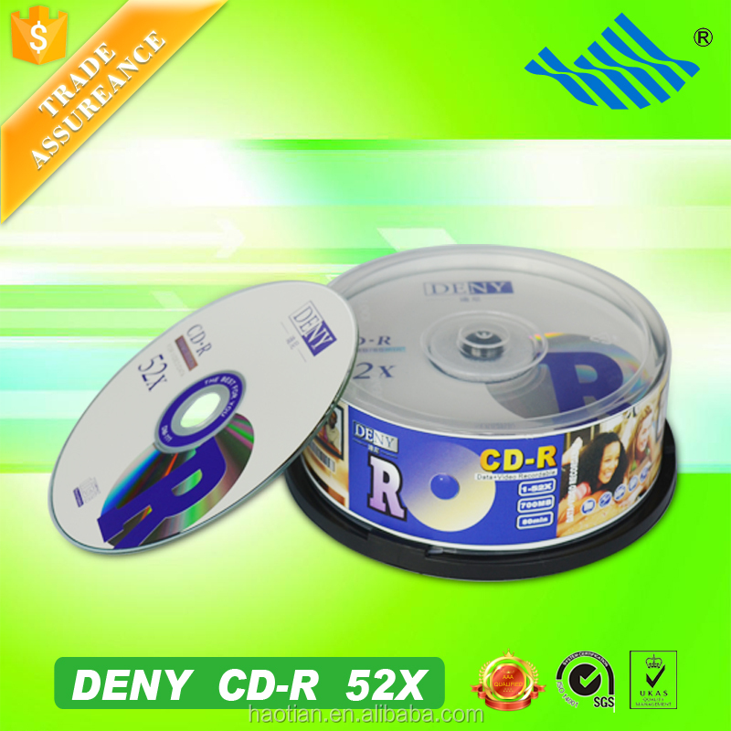 Guangdong Haotian welcomed quality 52X verbatim cd-r 700mb