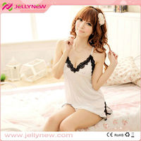 JNQ042 Hot sexy lady !!! Transparent sleepwear style sexy lingerie in uae