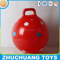 45cm dot print hopper ball bounce for kids