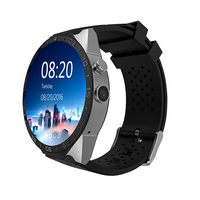 2017 China Best Watch Phone KW88 Android 5.1 512 Mb Ram 4 Gb Rom Bluetooth 4.0 Touch Screen Smart Watch