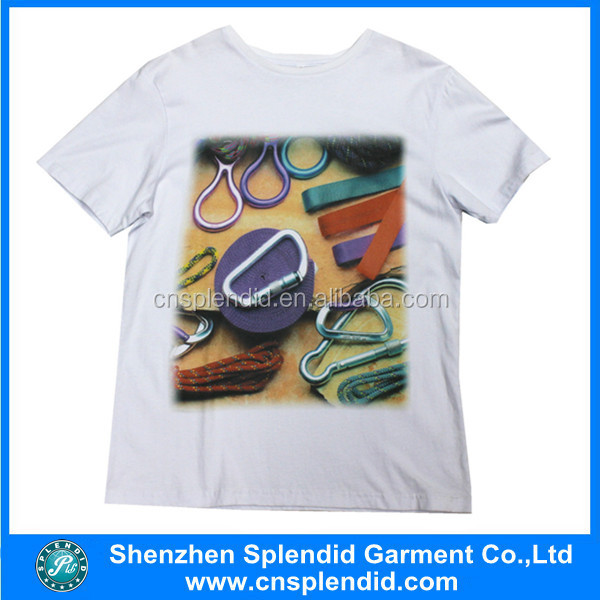 white custom printing t shirt wholesale cheap t shirts in bulk plain made in China