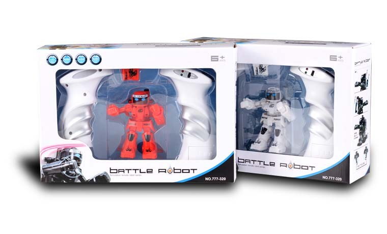 045320-2.4G RC MINI BATTLE ROBOT