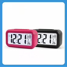 New Fashion Digital Alarm Clock LED Light Fluorescent Message Board Alarm electron gift LED