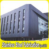 Stainless Steel Decorative Sheet Metal Outdoor Wall Covering