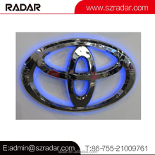 Illuminating LED 4s shop big car emblem digital car sign professional advertising outdoor metal car logo sign manufacturer