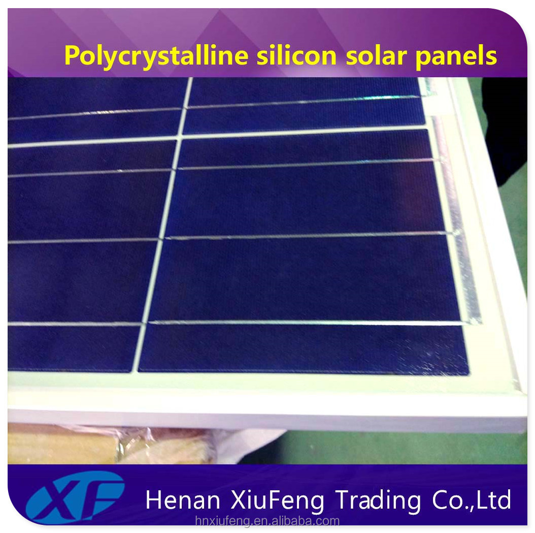 Factory Supplier 300wp solar panel 72pcs Polycrystalline Silicon Solar Panel with TUV CE certification for Papua New Guinea