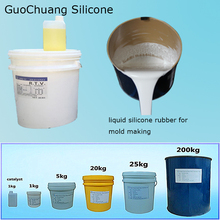 silicone rubbers rtv 815 for candle plaster mold making