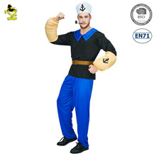 Party man cosplay costume cartoon character Popeye costume for adult