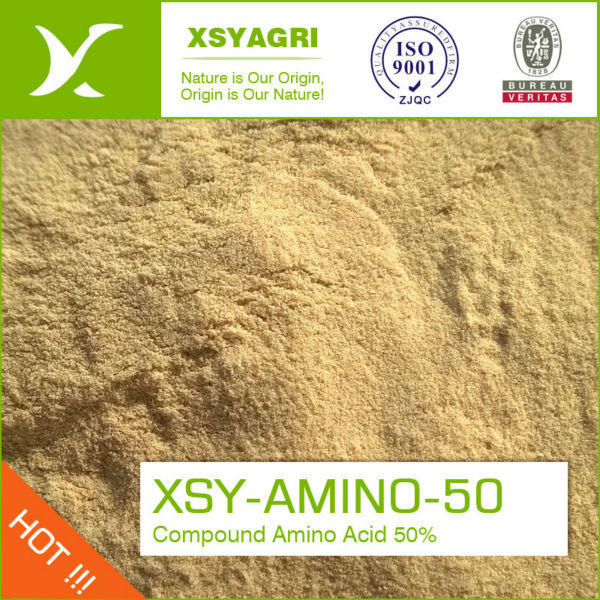 Water soluble Fertilizer Containing Amino Acids by Solid