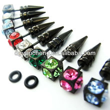316Lstainless Steel magnetic fake ear stretchers