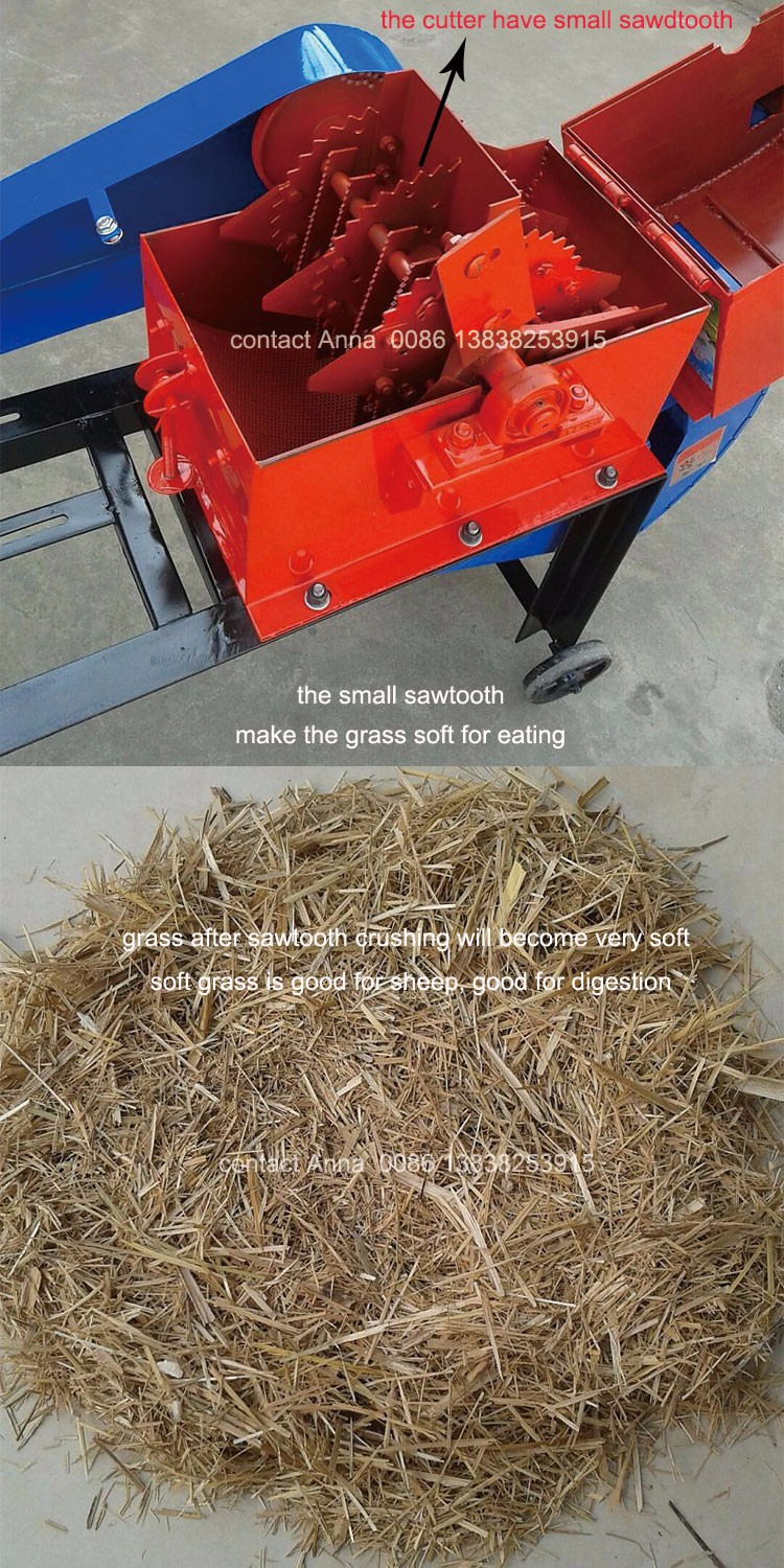 hot selling good quality animal feed grass cutting machine
