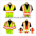 Pink safety vest with multi-pockets for road safety in OEM design