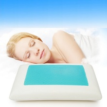 High quailty best selling silicon gel memory foam pillows