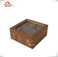 2017 season new design tea wood box for sale