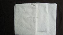 High quality white 90% polyester 10% cotton blended lining fabric textile raw materials