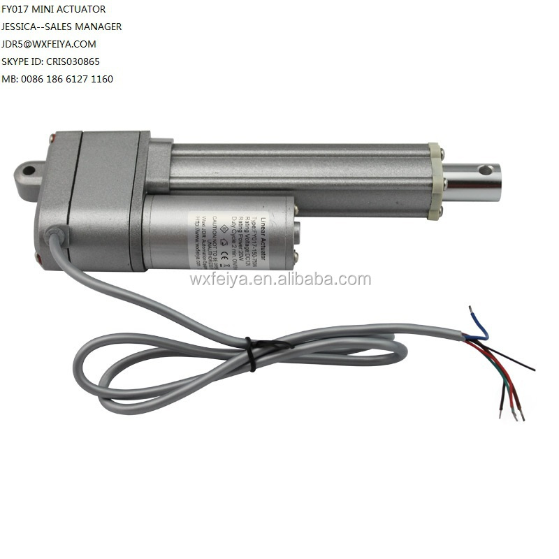waterproof dc electric linear actuator