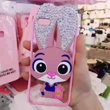 Diamond Cute Animal Cartoon Silicone 3D Case Cover For Apple iPhone 6